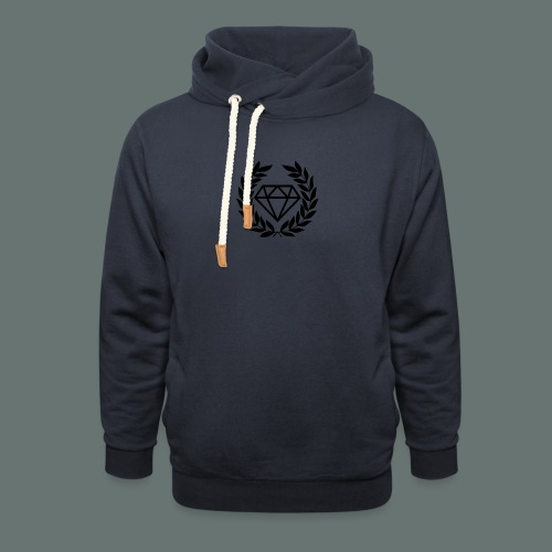 Black diamond Logo - Shawl Collar Hoodie