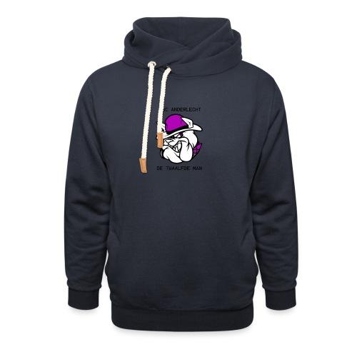 T-shirt D12M - Sjaalkraag hoodie