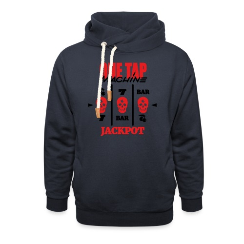 ONE TAP MACHINE CS:GO - Shawl Collar Hoodie