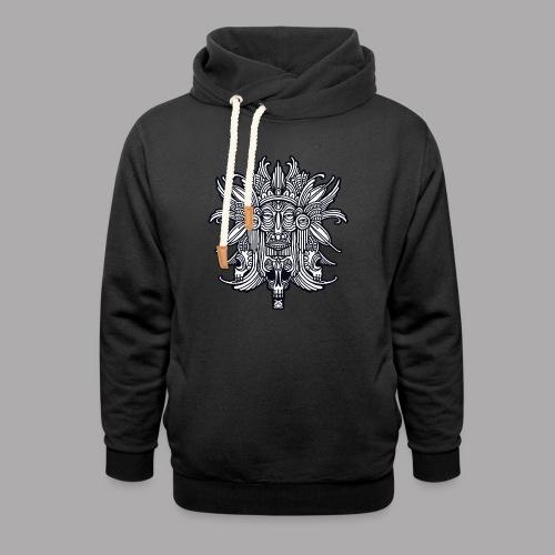 ritual black - Unisex Shawl Collar Hoodie