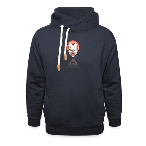 clown-png - Sjaalkraag hoodie