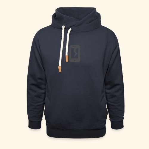 Tech Destruction - Shawl Collar Hoodie