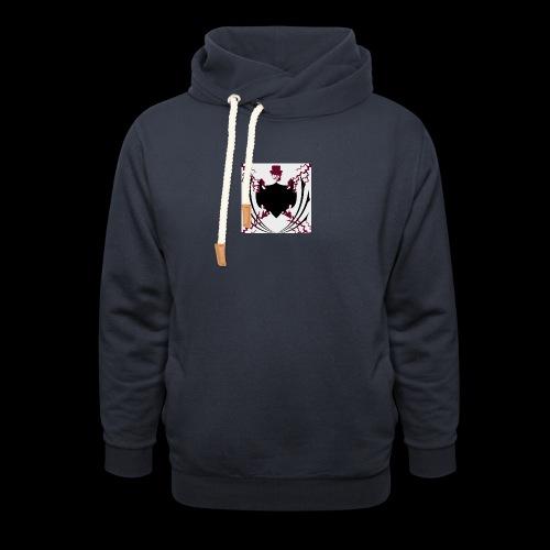 MauL*S - Unisex hoodie med sjalskrave