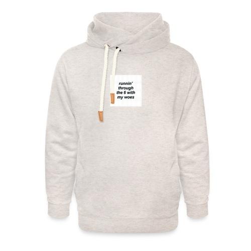cap woes - Unisex sjaalkraag hoodie