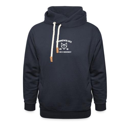 Promowolves finest png - Sjaalkraag hoodie