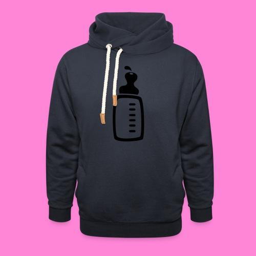 melkfles1 - Sjaalkraag hoodie
