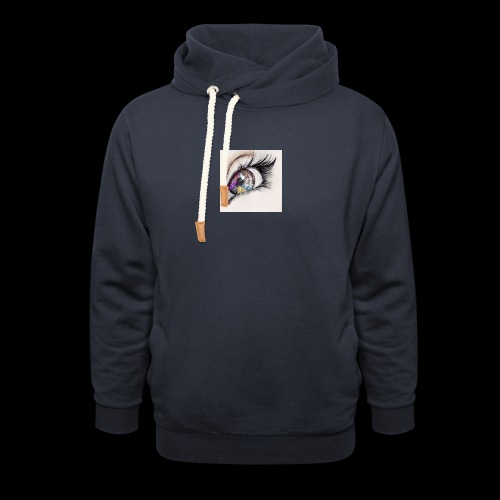 desenho design olhos eye Favim com 403064 - Unisex sjaalkraag hoodie