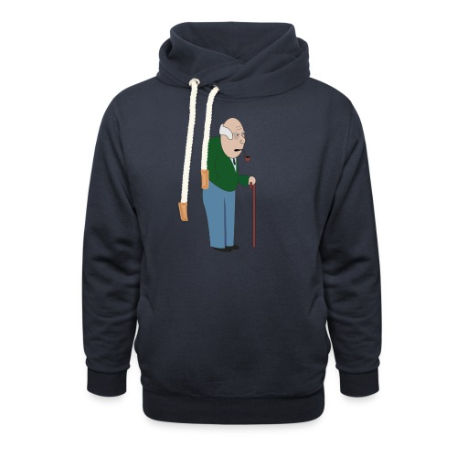 Old Tosspot - Shawl Collar Hoodie