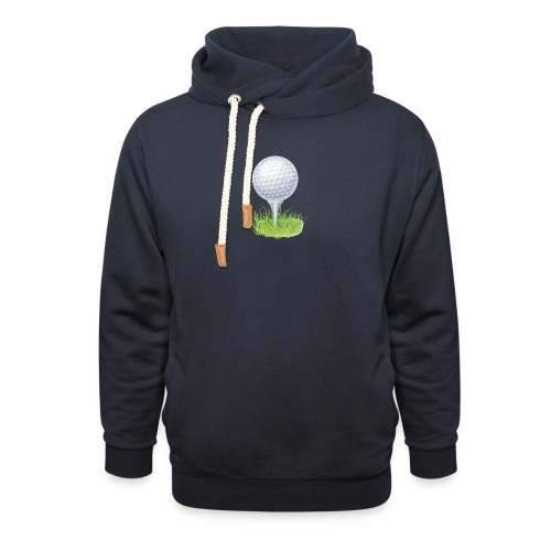Golf Ball PNG Clipart - Sudadera con capucha y cuello alto unisex