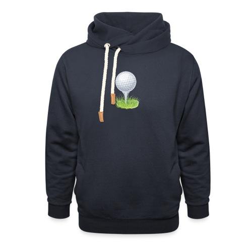 Golf Ball PNG Clipart - Sudadera con capucha y cuello alto