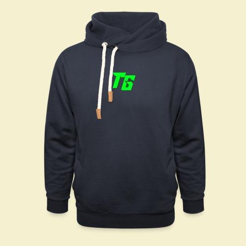 TristanGames logo merchandise - Unisex sjaalkraag hoodie