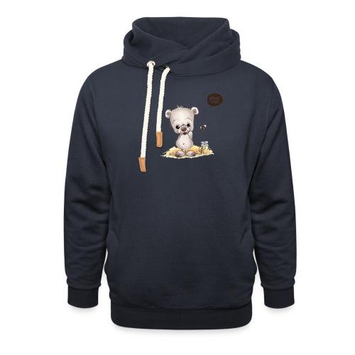 Noah der kleine Bär - Schalkragen Hoodie