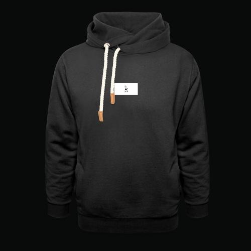 bafti hoodie - Unisex hoodie med sjalskrave