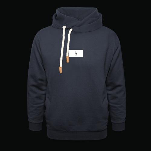 bafti hoodie - Hoodie med sjalskrave