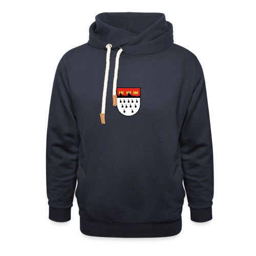 Köln Wappen Modern - Schalkragen Hoodie