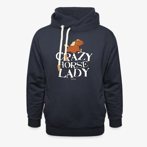 Crazy Horse Lady - Unisex huivikaulus huppari
