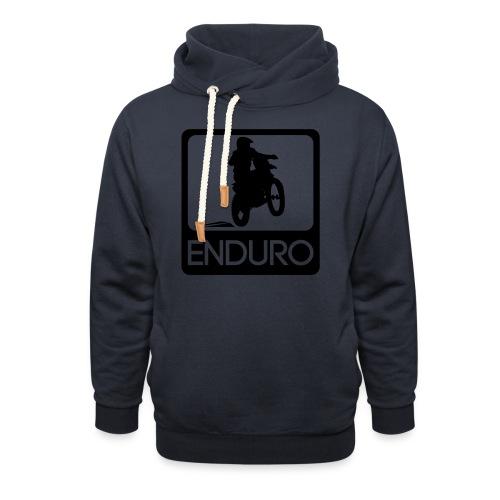 Enduro Rider - Schalkragen Hoodie