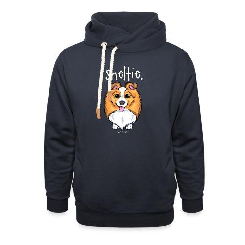 Sheltie Dog Cute 5 - Shawl Collar Hoodie