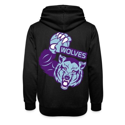 Wolves Basketball - Sweat à capuche cache-cou unisexe
