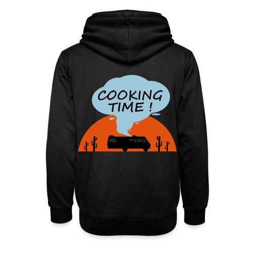 Cooking Time - Sweat à capuche cache-cou