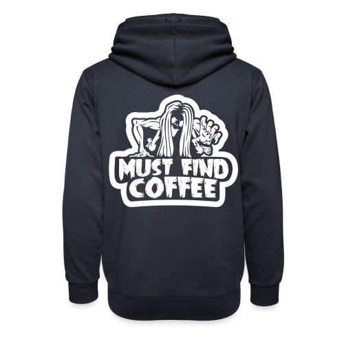 Must Find Coffee - Luvtröja med sjalkrage unisex