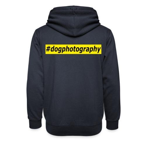 Dogphotography - Hundefotografie Fotograf Hunde - Unisex Schalkragen Hoodie