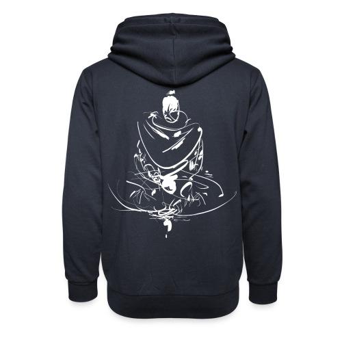 Iaido Samurai Zen Meditation - Shawl Collar Hoodie
