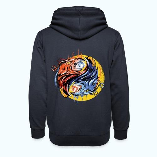 Japan Phoenix - Shawl Collar Hoodie
