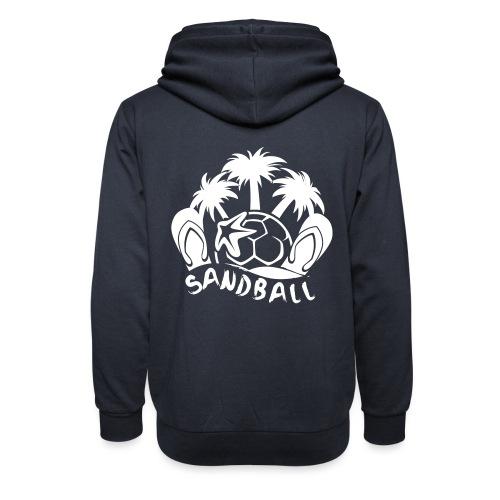 SANDBALL - Sweat à capuche cache-cou