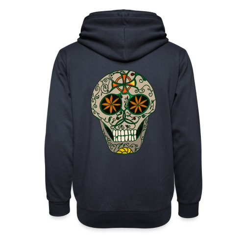 Growing Skull - Shawl Collar Hoodie