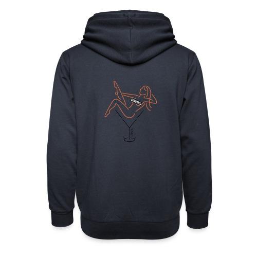 YARD girl - Sjaalkraag hoodie