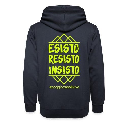 patch resisto - Felpa con colletto alto unisex