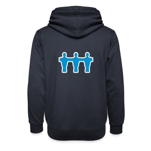 kickerspieler_outline - Kickershirt - Schalkragen Hoodie