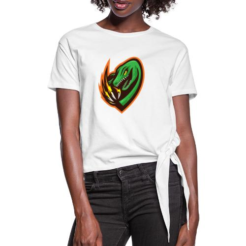 JurassicPvP Drop #1 - Women's Knotted T-Shirt