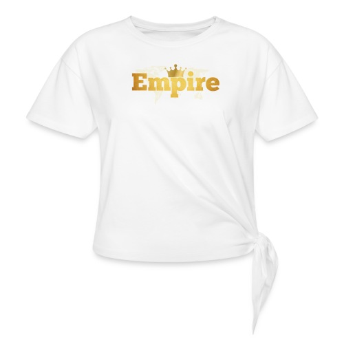 EMPIRE - T-shirt à nœud Femme