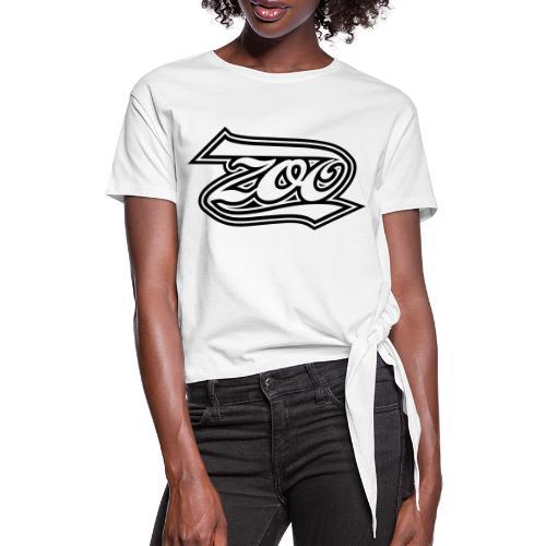 ZOO - Vrouwen Geknoopt shirt