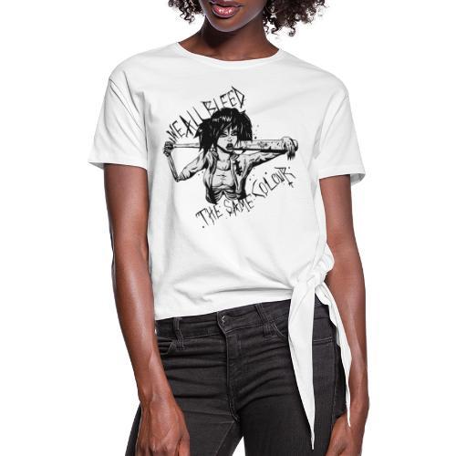 WeAllbleed - Frauen Knotenshirt