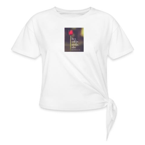IMG 20180308 WA0027 - Knotted T-Shirt