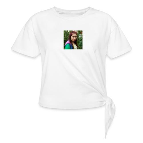 Ulku Seyma - Women's Knotted T-Shirt
