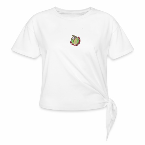 Rotting Llama Productions - Women's Knotted T-Shirt