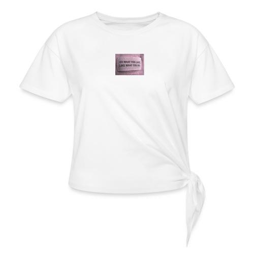 IMG 1322 - Dame knot-shirt