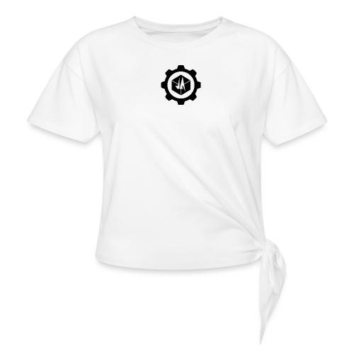 Jebus Adventures Logo (Transparent) - Knotted T-Shirt