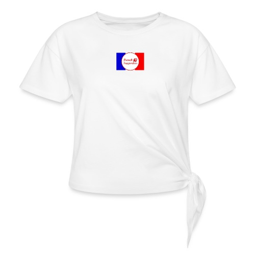 French supporters - T-shirt à nœud