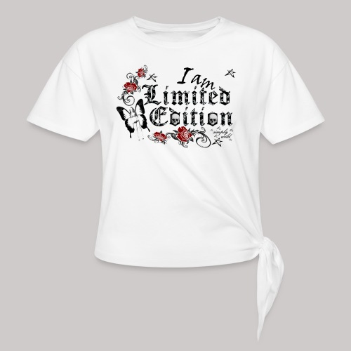 simply wild limited Edition on white - Knotenshirt