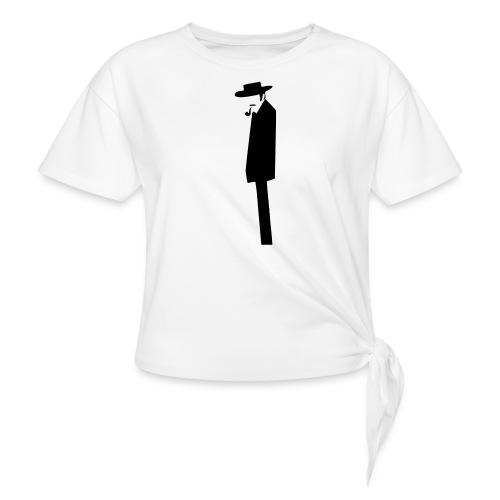 The Bad - T-shirt à nœud