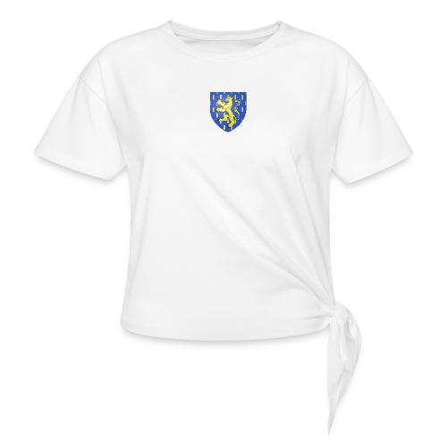 Blason de la Franche-Comté avec fond transparent - T-shirt à nœud