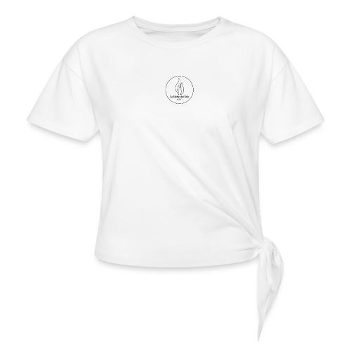 Logo Notte dei falo 1 - Maglietta annodata
