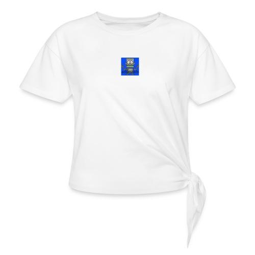 addminator - T-shirt med knut