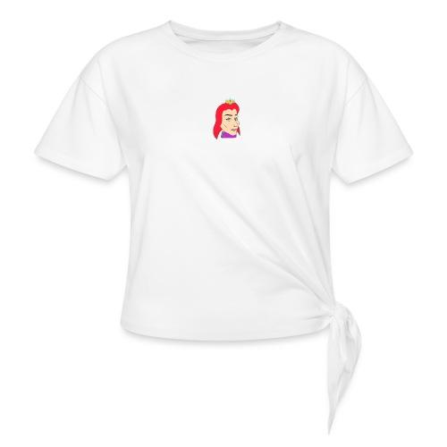 queen - Camiseta con nudo