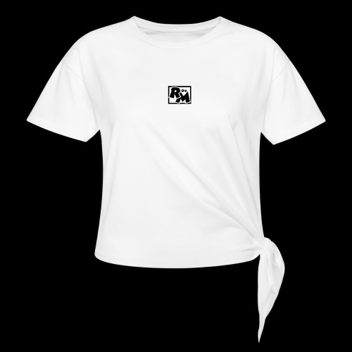 Runt Mods Black - Knotted T-Shirt